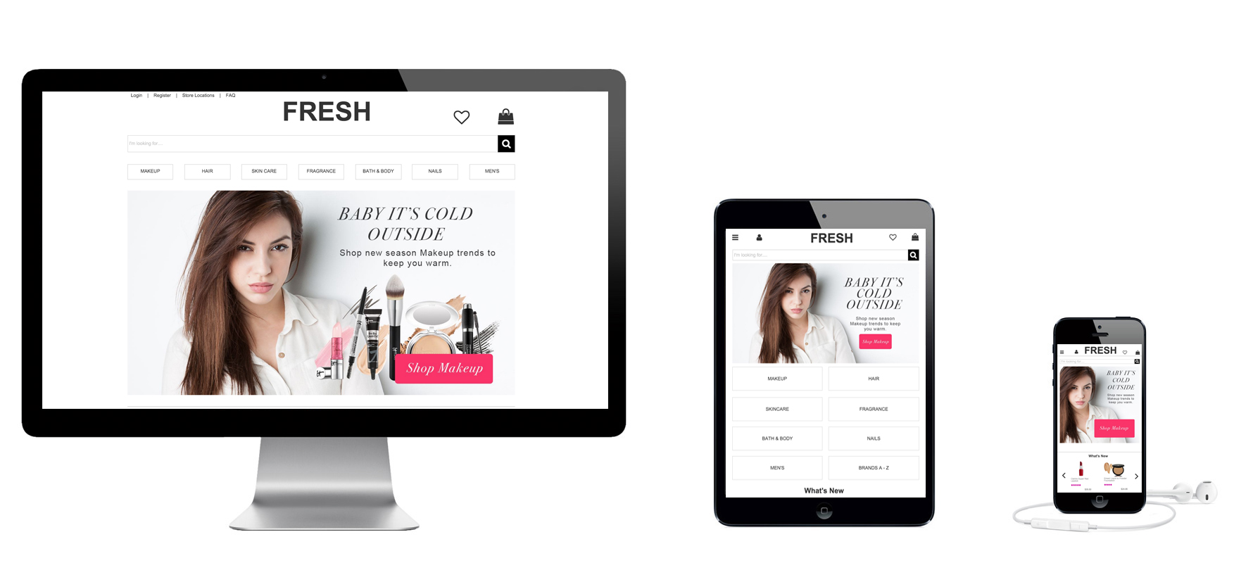 Fresh – Responsive Web Site